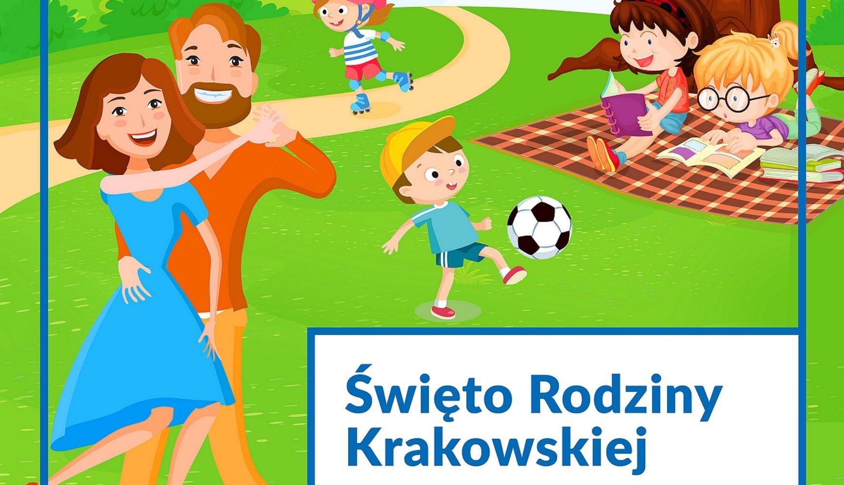 Święto Rodziny Krakowskiej wParku Jordana