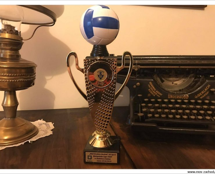 Siatkarki MOS Zachód 3D Sport Mistrzem Krakowa wsezonie 2018/2019