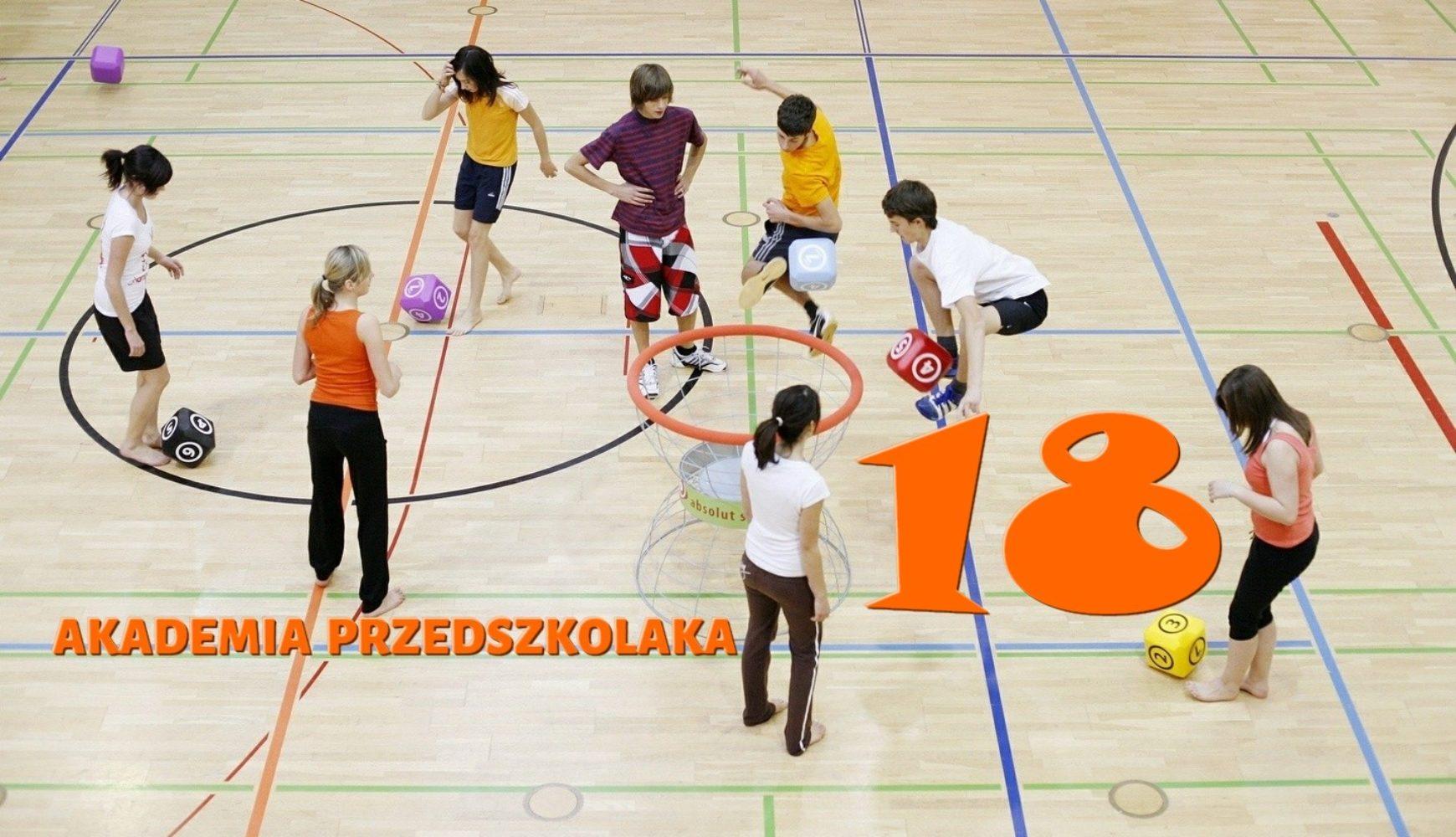 Ćwiczenia domowe – 18 – Akademia Przedszkolaka
