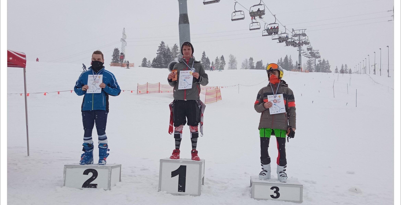 Wygrany slalom wLidze Szkół Krakowskich