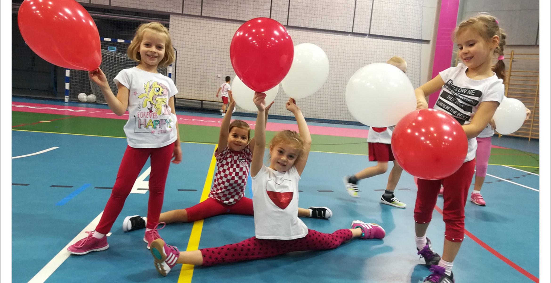 Akademia Przedszkolaka nasportowo świętuje 100 lat odzyskania niepodległości
